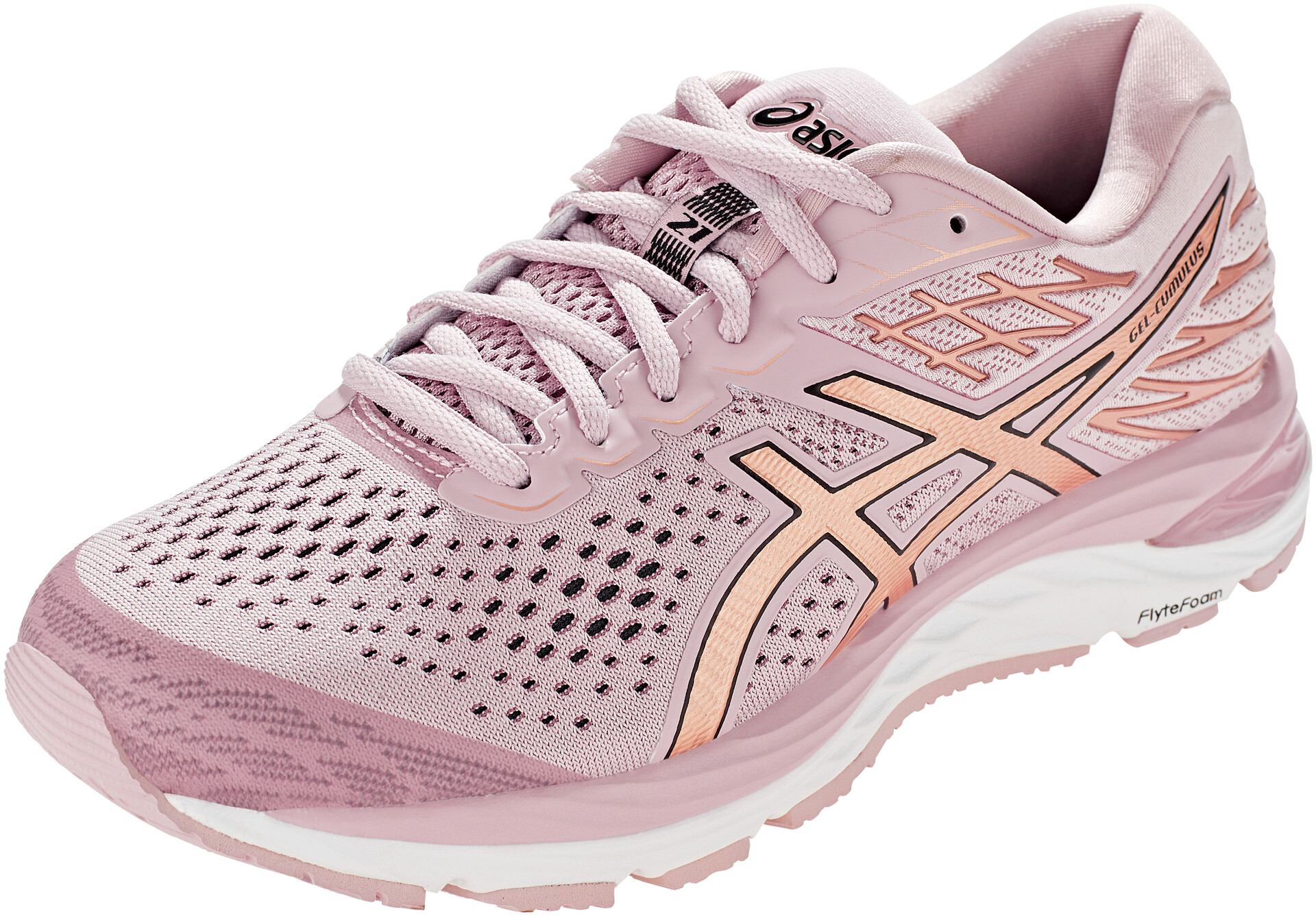 asics Gel-Cumulus 21 Schuhe Damen watershed rose/rose gold
